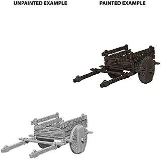 Wizkids Miniatures Deep Cuts Unpainted Minis 2 Wheel Cart