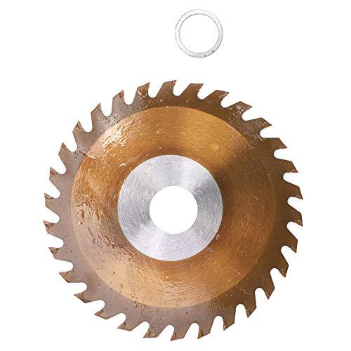 Snijschijf van metaal, brons, cementcarbide, 4 inch cirkelzaagblad voor het snijden van hout, staal, aluminium, ijzer, composietplaten, tegels (4 x 30 D x 20 mm)