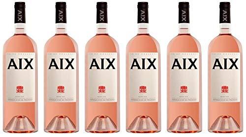 6x Aix Coteaux d´Aix en Provence Magnum (1,5L) 2019 - Weingut Maison Saint Aix, Provence - Rosé