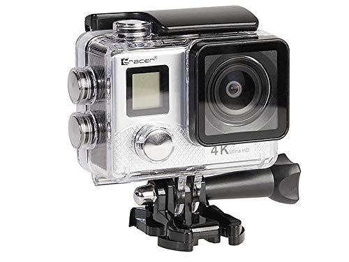 Tracer Explore SJ 4561 WiFi Silver Elegance sportcamera 4K WiFi 3840x2160, volwassenen, unisex, zilver, één maat