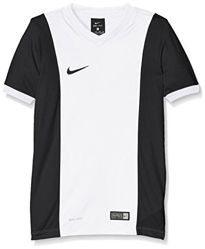 NIKE Short Sleeve Top YTH Park Derby Jersey Camiseta, Niños, Blanco/Negro (White/Black/White/Black), XL