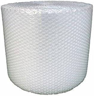発送用 引越用 プチプチ 緩衝材 1巻 梱包 ロール シート エアキャップ 紙管なし (d35, 巾300mm×全長42M)