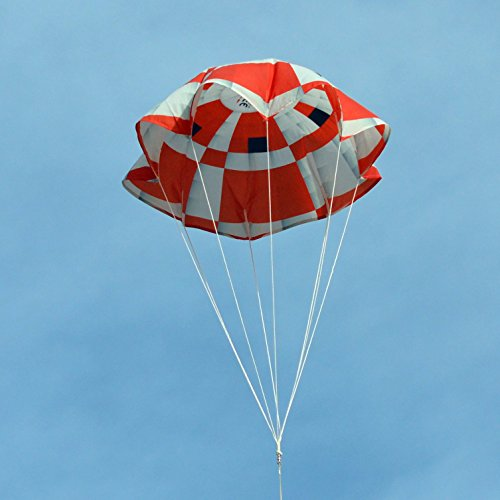 36-inch Ripstop Nylon Cloth Parachute for Water or Model Rocket