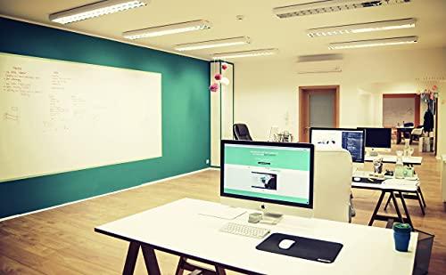 Smart Whiteboard Farbe 6m² Weiß - Whiteboard Wandfarbe - Beschreibbare Wand - Trocken Abwischbare Oberfläche für Zuhause und Büro *KOSTENLOSER EXPRESSVERSAND* - 5