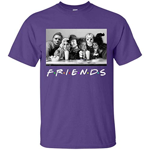 Friends H.ocus P.ocus Michael F.Reddy Jason Halloween T-Shirt