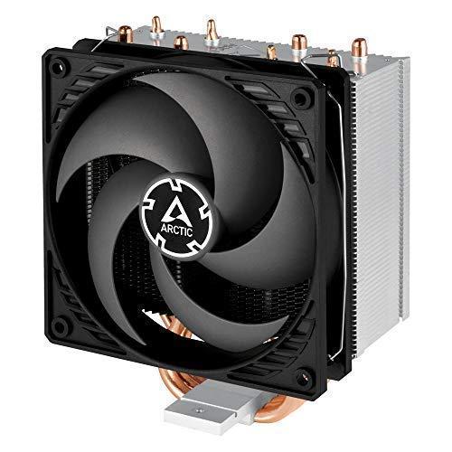 ARCTIC Freezer 34 CO - Tower Prozessorkühler mit P-Lüfter für 24h-Betrieb, CPU-Kühler mit 120 mm PWM Lüfter für Intel & AMD Sockel, empfohlen TDP bis 150 Watt, voraufgetr. MX-4 Wärmeleitpaste - Grau