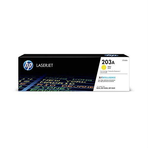 HP 203A (CF542A) Original Toner (für HP LaserJet Pro M254, HP LaserJet Pro M280, HP LaserJet Pro M281) gelb