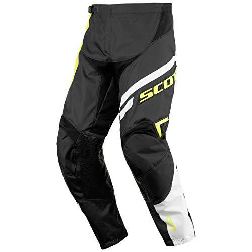 Scott 350 Track Kids Kinder MX Motocross/DH Fahrrad Hose schwarz/grün 2016: Größe: 28