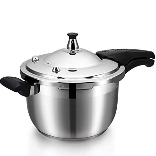 Roestvrijstalen drukkoker 3-8 l Rice Cooker soeppan stoomkoker en spaarkoker gasfornuis inductiefornuis universeel voor keuken thuis Hotel Cooking