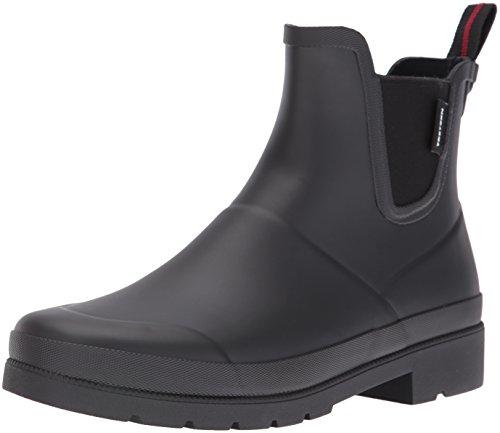 TRETORN Women's Lina Rain Boot, Black/Black, 7