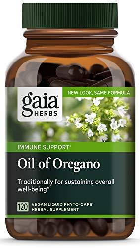 El aceite de orégano, 120 Veggie líquidos Phyto-Caps - Gai