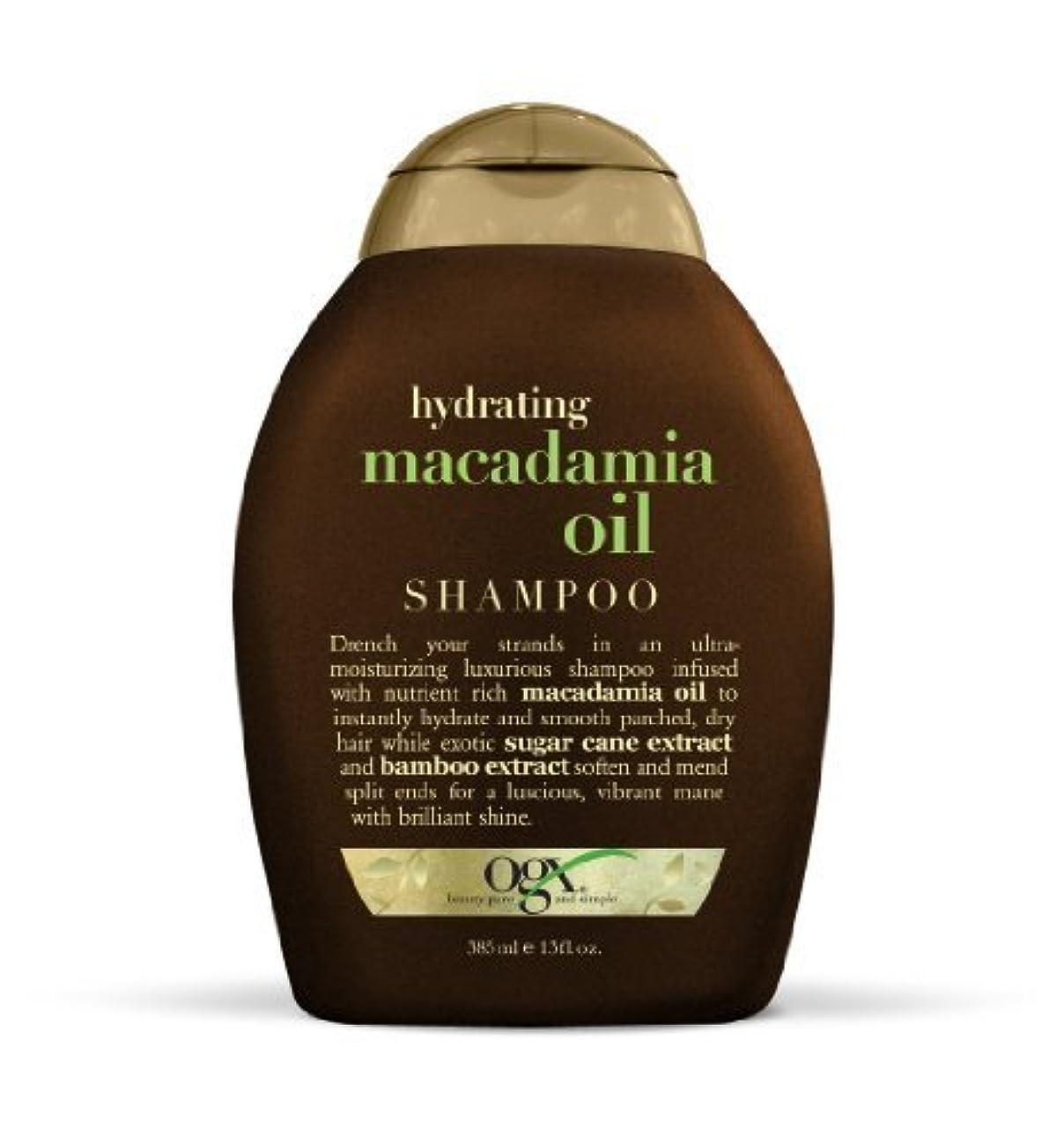 多様な投獄騒々しいOGX Shampoo, Hydrating Macadamia Oil, 13oz by Ogx [並行輸入品]