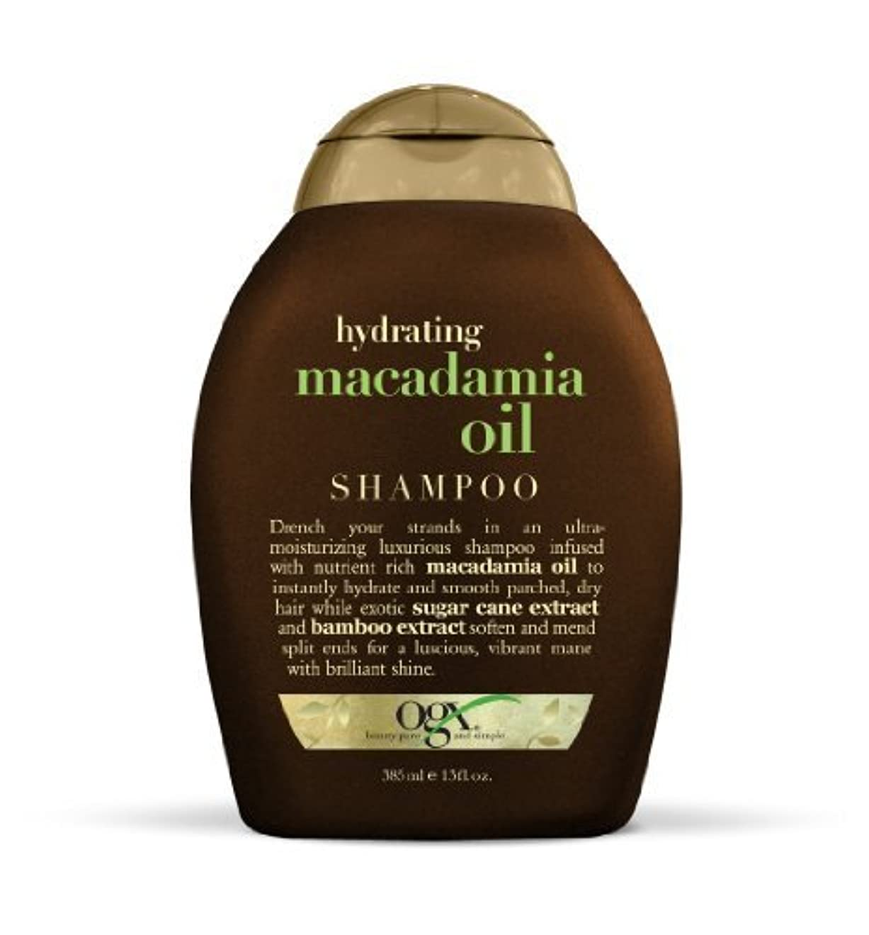 掘る選挙船上OGX Shampoo, Hydrating Macadamia Oil, 13oz by Ogx [並行輸入品]