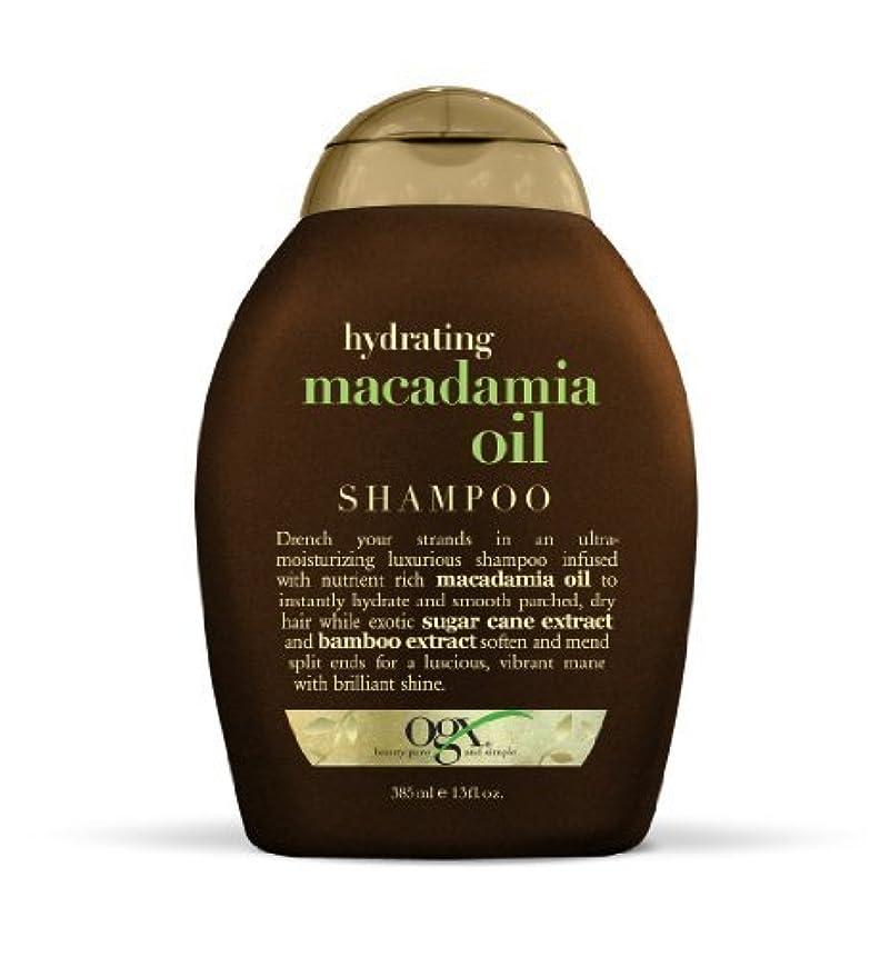 OGX Shampoo, Hydrating Macadamia Oil, 13oz by Ogx [並行輸入品]
