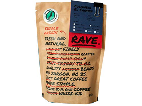 Rave Coffee - Colombia El Carmen (Suarez Project) - Green Coffee Beans for...