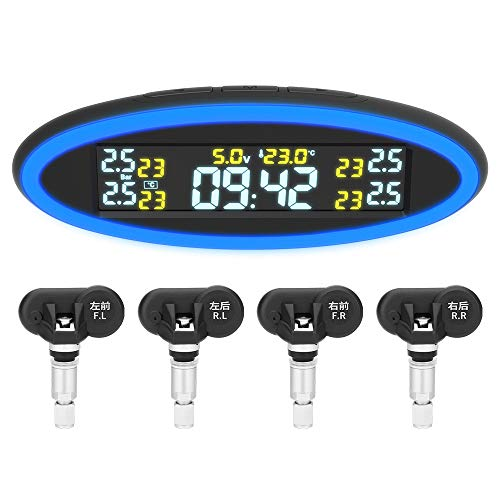 Haihui Luz ambiental, sistema de control de presión de los neumáticos, alarma de alta temperatura, alarma de alta tensión, energía solar, ABS original de alta precisión