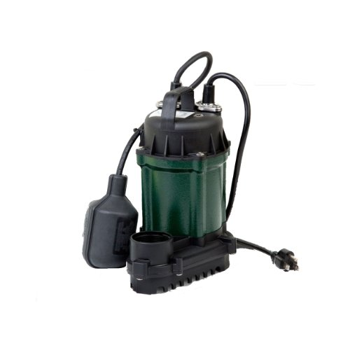 Zoeller 49-0006 Water Ridd'r III 0.25 HP Submersible Automatic Dewatering Pump with 20-Inch Cord