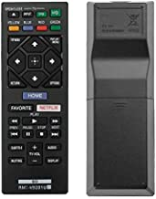 Replacement RMT-VB201U Remote for Sony Blu-ray DVD Player BDP-S1700CA BDP-S3700
