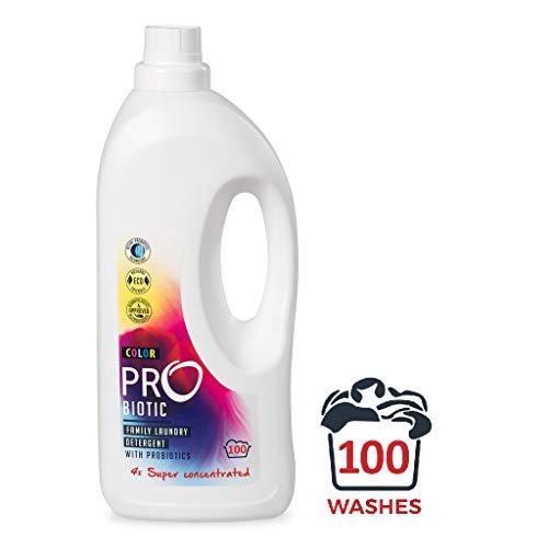 ProBiotic Bio Waschmittel ohne Duftstoffe mit Probiotika Kulturen | Probiotics Öko Flüssigwaschmittel für empfindliche Haut | probiotisch, umweltfreundlich, ökologisch, biologisch abbaubar | 1,5 L