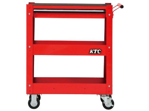京都機械工具(KTC) ツールワゴン 3段1引出し レッド SKX2613ST (2020-21 SK品)