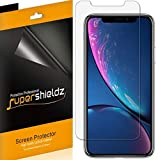 (6 Pack) Supershieldz for Apple iPhone 11 and iPhone XR (6.1 inch) Screen Protector, Anti Glare and Anti Fingerprint (Matte) Shield