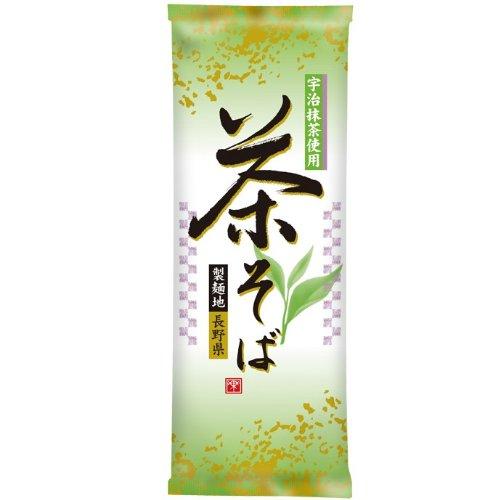 日本製粉 宇治抹茶使用 茶そば 200g×5個
