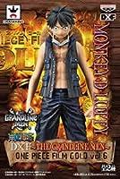 ONE PIECE DXフィギュア THE GRANDLINE MEN ONE PIECE FILM GOLD vol.6 モンキー・D・ルフィ 単品