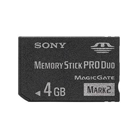 """ソニー 著作権保護機能搭載IC記録メディア""""メモリースティック PRO デュオ"""" 4GB MS-MT4G 2T"""