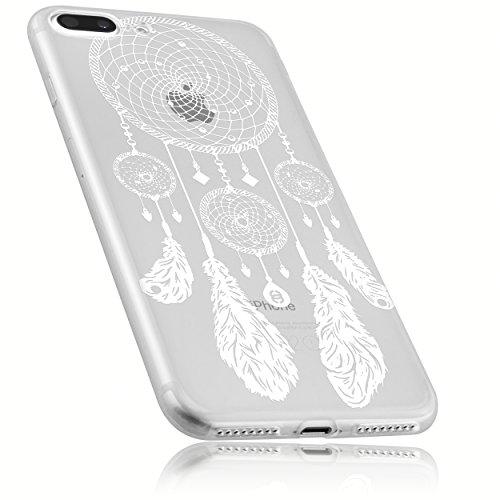mumbi Hülle kompatibel mit iPhone SE 2 2020 / 7 / 8 Handy Case Handyhülle mit Motiv Traumfänger, transparent