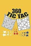Livre de casse-tête logique Tic Tac: Jeu 360 avec des solutions (French Edition)