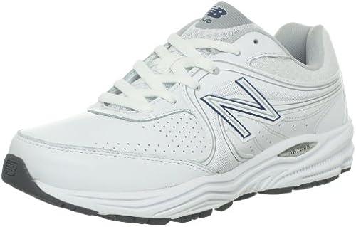 New Balance Herren 840 Motion Control-Walking-Schuhe, 40 EUR - Width 4E, Weiß with Blau