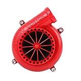 Zidao Turbocompresor con Válvula De Alivio De Presión Automático, La Válvula De Aire Arte Electrónico Intercambio De La Válvula De Alivio De Presión Electrónico,Rojo