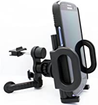Selna Car Mount Vehicle AC Air Vent Phone Holder Swivel Cradle for Nokia Lumia 520 521 630 635 710 810 820 822 925 928 1020 Icon 920 925 - 1520 1320 - Huawei Ascend P6 P7, Galaxy Round, Alcatel OneTouch Idol Mini