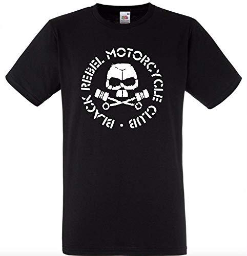 Black Rebel Motorcycle Club Logo Black T-Shirt Free UK Delivery Adult Top Black