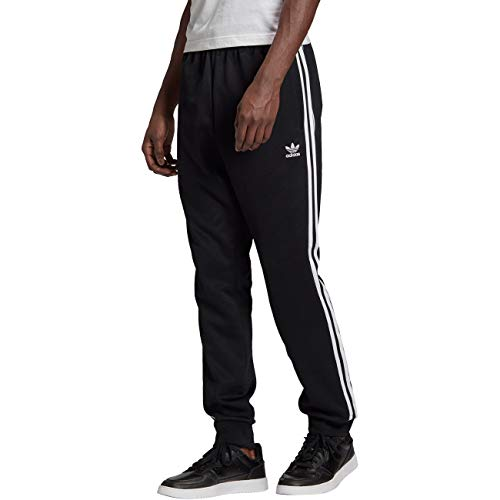 adidas SST TP P Blue, Pantaloni Sportivi Uomo, Black/White, M