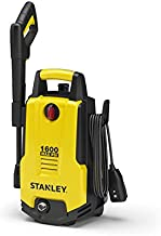 Stanley SHP1600 Electric Pressure Washer with Vari-Spray Nozzle, Wand, 1600 PSI, Yellow