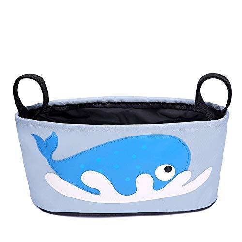 Bolsa para carrito de bebe ligera pequeña manejable y resistente...