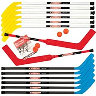 Cosom By Cramer 42 Inch Senior Hockey Stick for Floor Hockey and Street Hockey, Built to Last, High School Physical Education Equipment, Plastic Hockey Equipment for Practice and Training