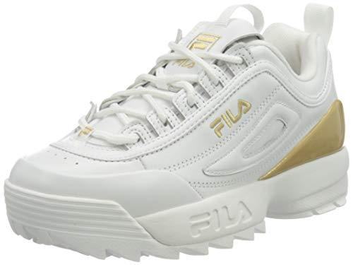 Fila 1010862-1Fg, Zapatillas Mujer, Blanco, 41 Eu