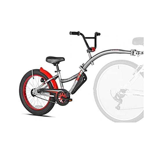 Remolque para Bicicleta, Bicicleta De Montaña, Remolque para Padres E Hijos, Neumático Grueso Plegable, Remolque para Niños, Bicicleta Común Plegable