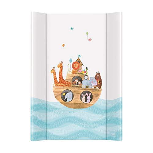 Wickelauflage Wickelunterlage Wickeltischauflage 2 Keil 70x50 cm Abwaschbar für Mädchen und Junge - Arka 70x50
