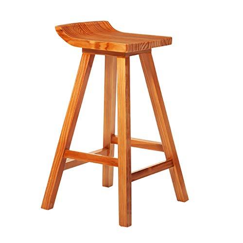 XXT barkruk, barkruk, modieus, barkruk, creatief, hoge stoel 75cm Teak Color