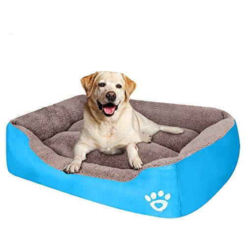 PUPPBUDD Pet Dog Bed for Large Breeds