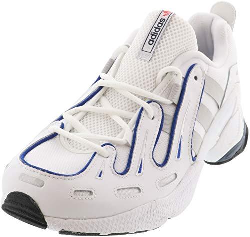 adidas EQT Gazelle - Zapatillas informales para hombre, (Blanco/Azul), 42.5 EU