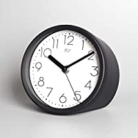 5.9インチシンプルなベッドサイドクリエイティブデスク時計ホームデスク時計ミュートデスク時計ファッションデスククロック(アラビア数字) (Color : C)