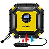 AOXNRFA Compresseur d'air Portable, Gonfleur Pneus Voiture 12V 100 PSI Digital...