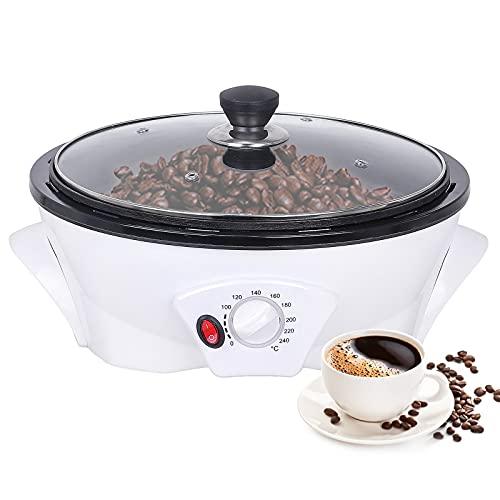 YUCHENGTECH Tostador de café Máquina tostadora eléctrica de granos de café Máquina tostadora de granos de café para el hogar 500g 1200W
