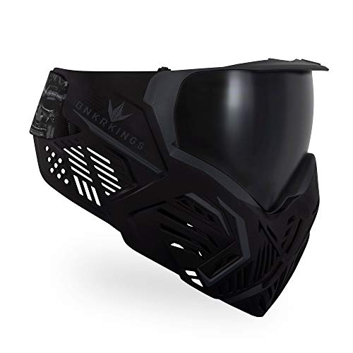 Bunkerkings CMD Paintball-Schutzbrille, Samurai Schwarz