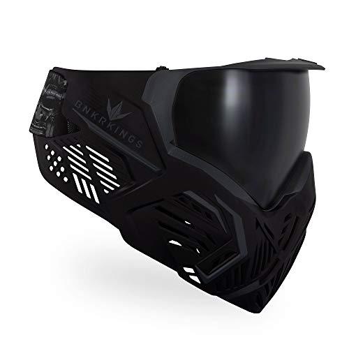 Bunkerkings CMD Paintball Brille/Masken, Black Samurai, CMD