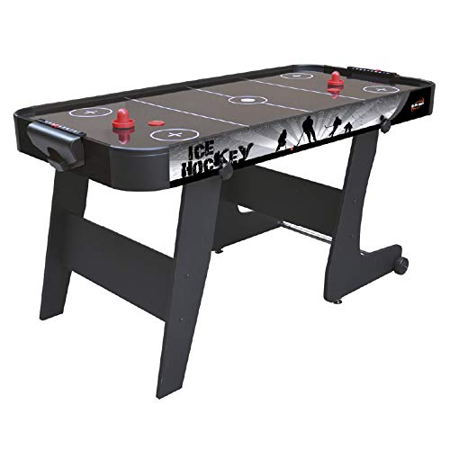Devessport Mesa de Airhockey Plegable Black City de 152x76x7